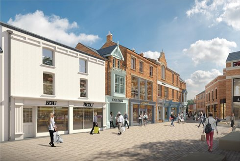 Lincolnshire Co-op signs Lakeland at its Cornhill Quarter development in Lincoln