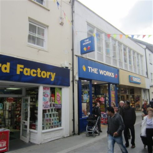 Haverfordwest Retail investment sale