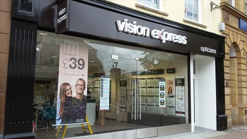 New Vision Express store opens in Taunton